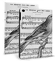 ヴィンテージ フランス な鳥 歌 iPad 10.2 ケース iPad 8 ケース(2020モデル) iPad 第7世代 ケース (2019モデル) Apple Pencil 一代収納可能 ipad 10.2 インチ (2019/2020秋発売新型)アイパッド ケース10.2 2020 第8世代