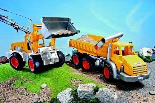 Wader 38456 ConsTruck Kipper 3 Achsen und Schaufellader