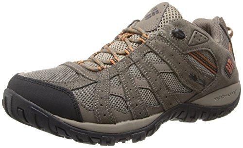 Columbia Redmond Chaussures de randonnée Basses imperméables pour Homme - Marron - Pebble Dark Ginger, 42.5 EU