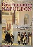 Dictionnaire Napoléon - 01/01/2001