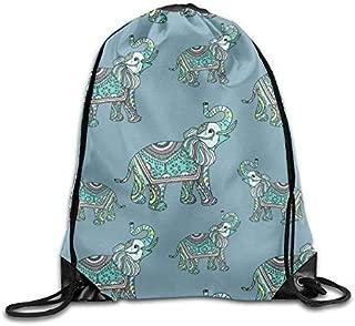 Polar Bear Art Drawstring Backpack Rucksack Shoulder Bags Training Gym Sack For Man And Women