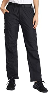 Women's Quick Drying Hiking Pants Lightweight Outdoor Athletic Shorts Work Travel UV Protect Cargo Durable Trousers #2100