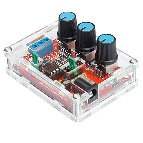 Signal Generator DIY Kit, KKmoon XR2206 High Precision Function Signal Generator DIY Kit Sine/Triangle/Square Output 1Hz-1MHz Adjustable Frequency