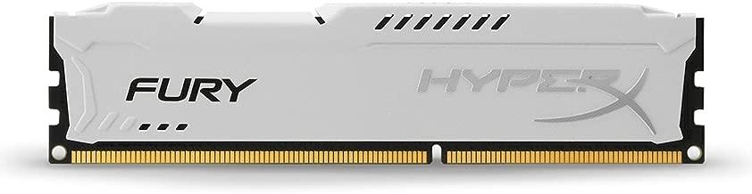 Kingston HyperX FURY 4GB 1600MHz DDR3 CL10 DIMM - White (HX316C10FW/4)