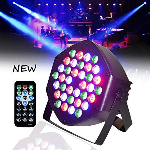 LED PAR Licht 36W 36LEDs RGB 7 Beleuchtung Modi Disco Lichteffekte dj party Licht Bühnenbeleuchtung led scheinwerfer Fernbedienung DMX