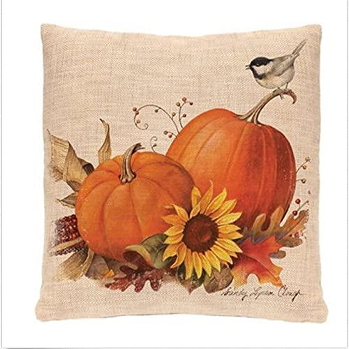 KLily Funda De Almohada Decorativa con Patrón De Halloween, Funda De Almohada para Sofá De Dormitorio En Casa, Material Lavable
