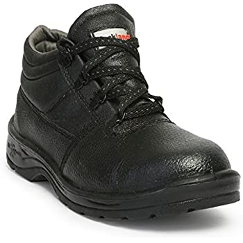Hillson HLSN_RCKL_7 Rockland PVC Moulded Safety Shoe (Black, UK Size 7)