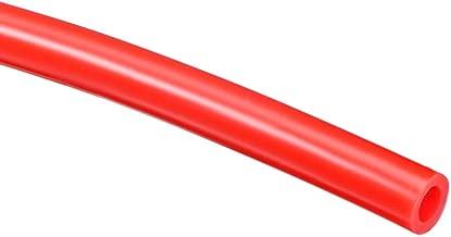 Tubo de silicona Sourcingmap de 0,5 mm de di/ámetro interior x 1,5 mm de di/ámetro exterior tubo de silicona flexible de 10 m para transferencia de bomba transparente
