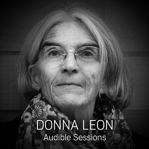 Donna Leon audiobook cover art