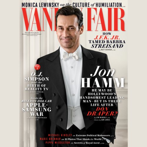 Vanity Fair: June 2014 Issue                   By:                                                                                                                                 Vanity Fair                               Narrated by:                                                                                                                                 Graydon Carter,                                                                                        various narrators                      Length: 4 hrs and 45 mins     4 ratings     Overall 3.8