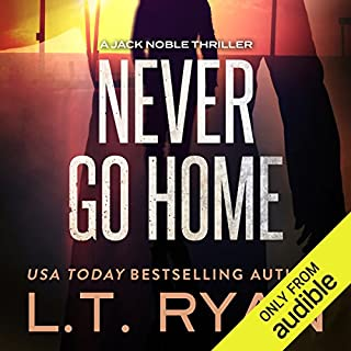 Never Go Home audiobook cover art