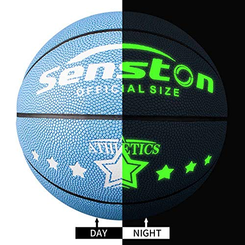 Why Should You Buy Senston Night Ball Basketball Youth Size 5, Glow in The Dark Basketball Ball for ...