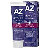 AZ Dentifricio 3D White Luxe, Bianco Brillante, 75 ml