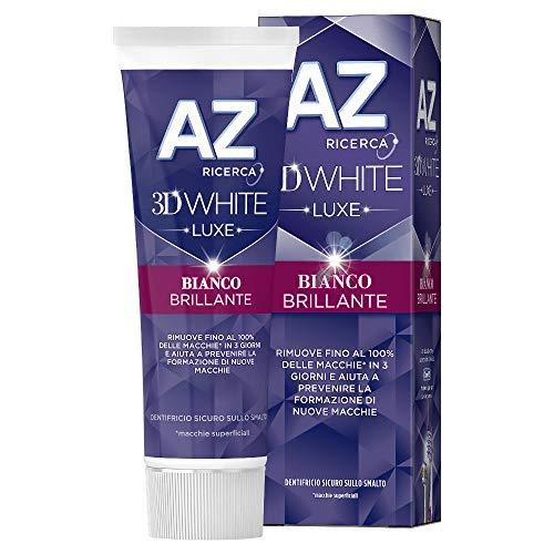 AZ Dentifricio 3D White Luxe, Bianco Brillante, 75...