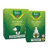 Relec Día y Noche - Difusor y Recambio Antimosquitos + Recambio Antimosquitos Eléctrico