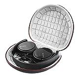 Case Kopfhörerbox für JBL Tune500BT /Sony MDRZX110 Noise-Cancelling/MDR-ZX310 / Sony MDRZX110AP Kopfhörer Tasche, Headphone kopfhörer case Hülle Von Wynian (Schwarz)