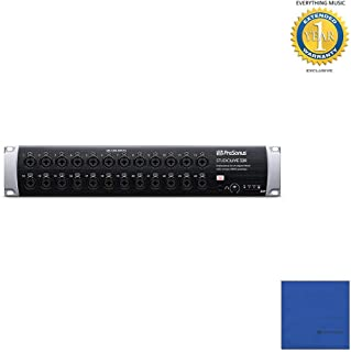 Presonus STUDIOLIVE 32R 34-input, 32-channel Series III stage box and rack mixer with Microfiber and 1 Year Everything Music Extended Warranty