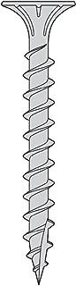 8 x 1 5/8 Fiber Cement Board Screws 17pt 316SS - Carton 1000 pc