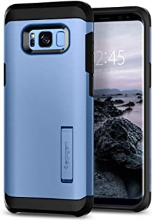 Spigen Tough Armor Designed for Samsung Galaxy S8 Case (2017) - Coral Blue