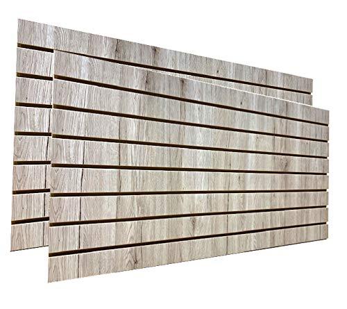 Barnwood Slatwall Panels 24'H x 48'L (Set of 2 Panels)
