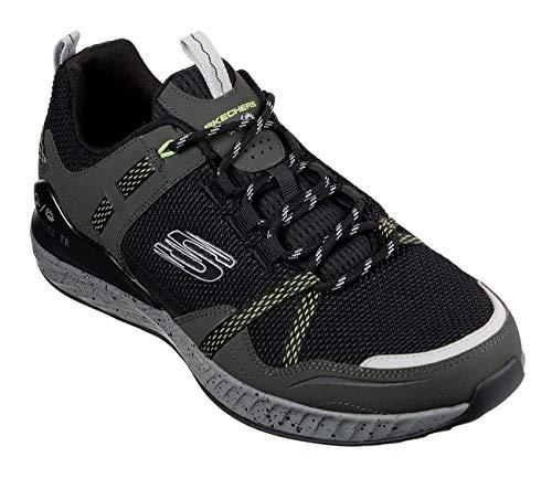 Skechers Herren 237032-OLBK_46 Trekking Shoes, Olive Black, EU