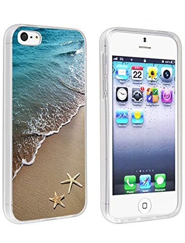 Protective Case for iPhone SE/5/5S Beautiful Beach Scene - http://coolthings.us