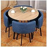 Conjunto de mesa de comedor para cocina o decoraci 90 cm mesa de la mesa de la sala de estar de la mesa de la cocina tienda de ropa del hotel Corridor apartamento Postre tienda de ropa de algodón Sill