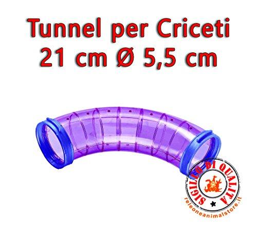 Imac Tunnel per criceti 21 cm Tutte Le Gabbie*