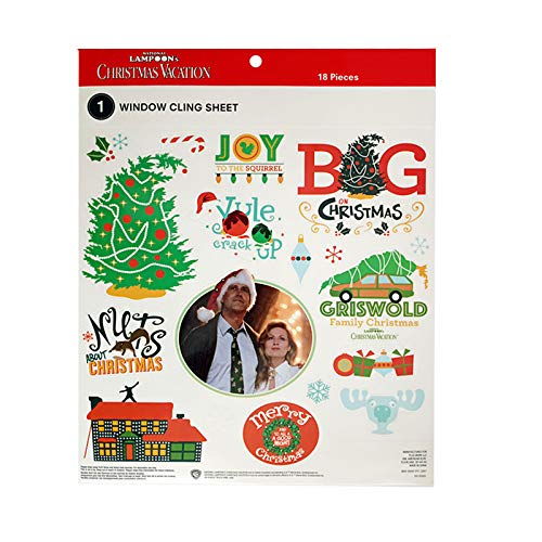 National Lampoon's Lampoon Christmas Vacation Movie Window Clings