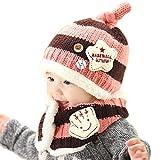 Bebé Sombrero y Bufandas, Bufandas del Bebé, sombrero invierno bebe, Invierno Niño...