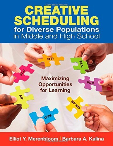 Creative Scheduling for Diverse Populations in Middle and High School: Maximizing Opportunities for Learning by Merenbloom, Elliot Y., Kalina, Barbara A. (2012) Paperback