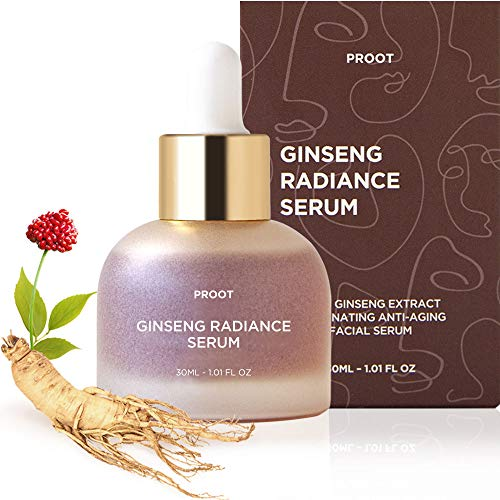 512lAGVhqhL - Ginseng Radiance Serum | 52.5% Ginseng Extract Rejuvenating Anti Aging Face Serum | Formulated with Ginseng Extract, Hyaluronic Acid, WGF Complex-3 | Korean Skin Care, Vegan, Cruelty-free | 1.01 oz