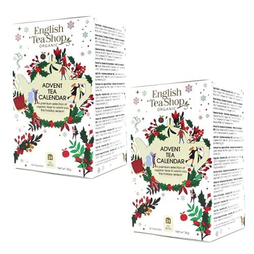 English Tea Shop Calendario dell'Avvento con Tè & Tisane | Tisane del Natale Assortite ai Sapori Festivi | Avvento...