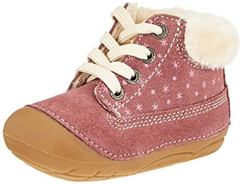 Lurchi Baby-Mädchen FROZY Sneaker, Wildberry, 19 EU
