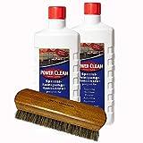 Teppichreiniger Polsterreiniger Power Clean Spezial-Reinigungs-Konzentrat Spar Set. Teppich-Shampoo geeignet für alle Waschsauger (24,95€/L)