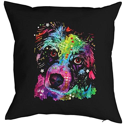 Aussie Dog Pillow, oreiller, almohada, Cuscino Pop Art Style