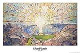1art1 Edvard Munch - Die Sonne, 1910 Poster 91 x 61 cm