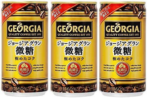 ジョージア グラン微糖 185g×60缶