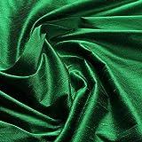 Stoff Shantung Seide Leinwand grün reine Seide edel