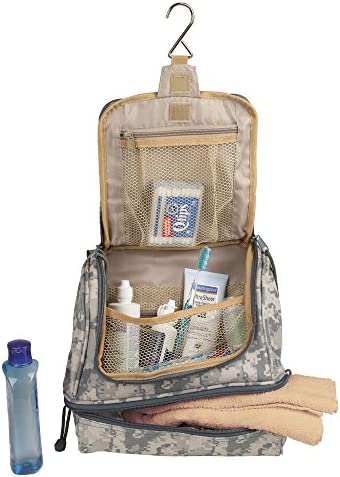 NuFazes ACU Pattern Portable Hanging Travel Kit Pouch Cosmetic and Toiletry Bag product image