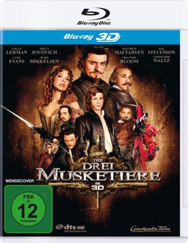 Die drei Musketiere [3D Blu-ray]
