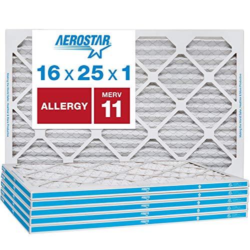 Aerostar Allergen & Pet Dander 16x25x1 MERV 11 Pleated Air