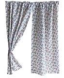 GooseBoose Vorhänge mit Gänseblümchen-Motiv, für den Sommer, Motiv Tanz
