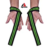 APRODO Weight Lifting Straps + Wrist Protector for Weightlifting, Bodybuilding, MMA, Powerlifting, Strength