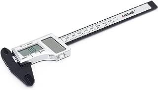 YDZN Solar Power ElectronicDigital VernierCaliper, LCD Gauge Micrometer, 150mm 6 inchRulerMeasuringTool