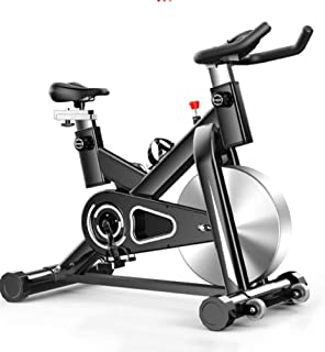 Spinning Bike, Home Ultra-Quiet Indoor Pedal Fitness Equipment Sports Bike, High-Performance Internal Magnetic System, Mul...