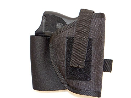 DTOM AH2 Neoprene and Nylon Ankle Holster for Ruger LCP with Crimson Trace, Kahr P380 with Crimson Trace, and others (see full list below).