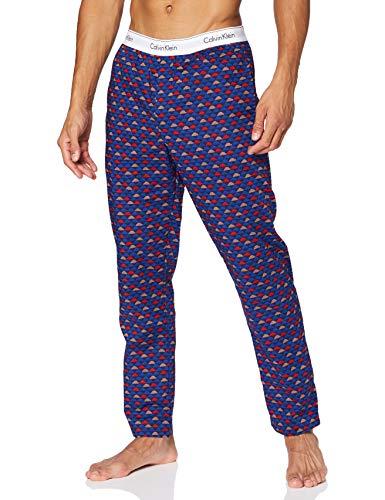 Tommy Hilfiger Sleep Pant Pantalones, Nube Geo_Chino Azul, S para Hombre