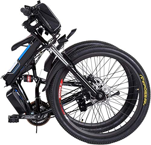 512lJX92+LL - fiugsed Elektrofahrrad Mountainbike 26 Zoll E-Bike 36V, 250W Das-Kit Heckmotor, Elektrofahrräder mit 21-Gang Nabenschaltung