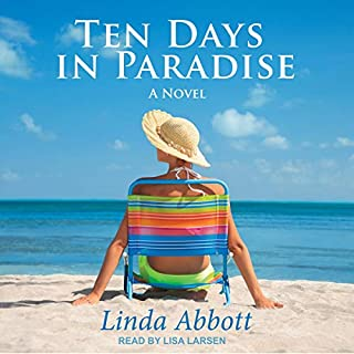 Ten Days In Paradise audiobook cover art